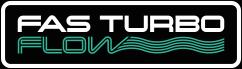 PRAES logo fas turbo flow